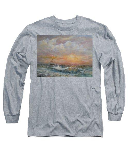 Sunlit  Frigate Long Sleeve T-Shirt
