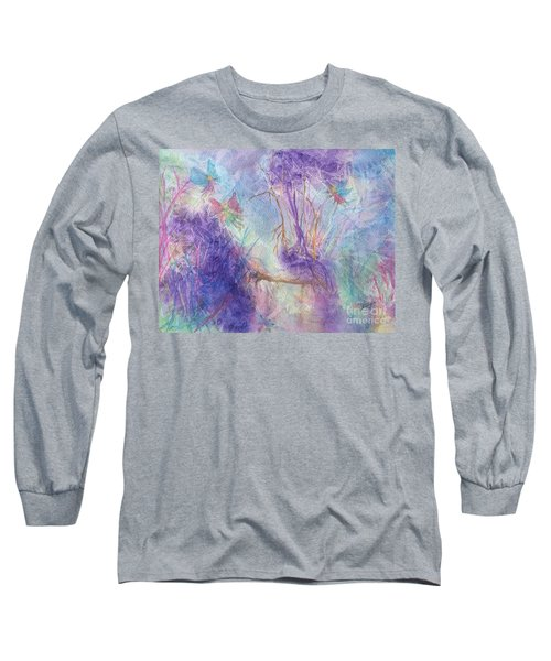 The Gathering Long Sleeve T-Shirt by Ellen Levinson