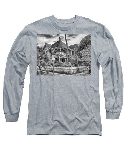 Long Sleeve T-Shirt featuring the photograph The Gingerbread House by Howard Salmon