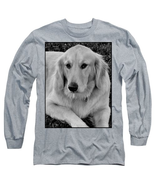 Long Sleeve T-Shirt featuring the photograph The Golden Retriever by James C Thomas