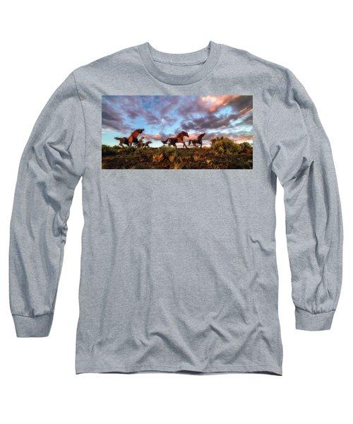 The Good Run Long Sleeve T-Shirt by James Heckt