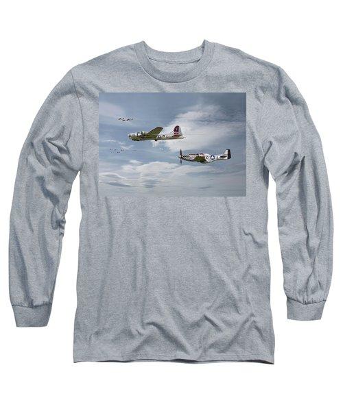 The Good Shepherd Long Sleeve T-Shirt by Pat Speirs