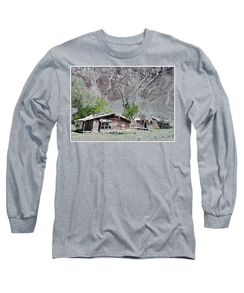 The Grass Is Greener When It's Growing On The Roof Long Sleeve T-Shirt