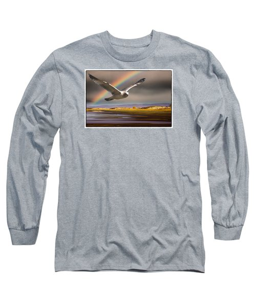 The Gull And The Rainbow Long Sleeve T-Shirt