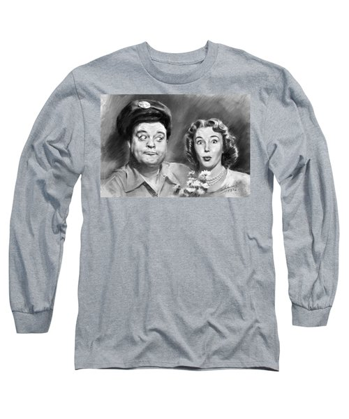 The Honeymooners Long Sleeve T-Shirt by Viola El
