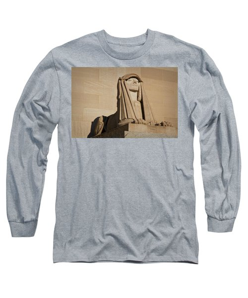 The House Of The Temple Sphinx #2 Long Sleeve T-Shirt