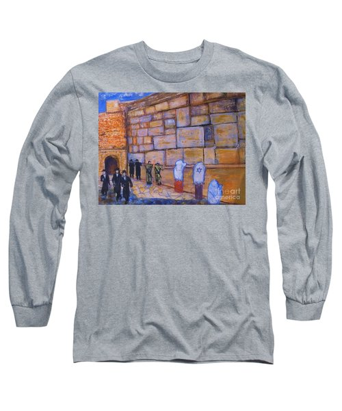 The Kotel Long Sleeve T-Shirt by Donna Dixon