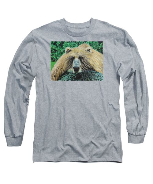 The Look Long Sleeve T-Shirt by Jeanne Fischer
