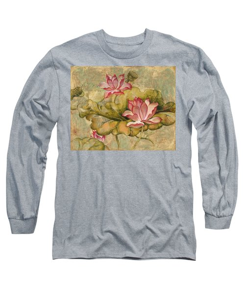 The Lotus Family Long Sleeve T-Shirt