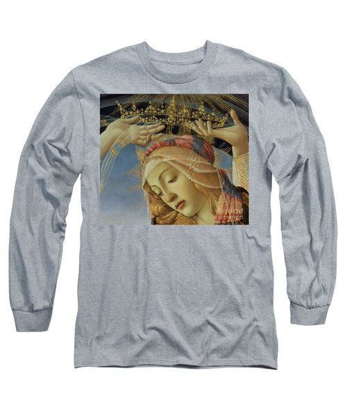 The Madonna Of The Magnificat Long Sleeve T-Shirt
