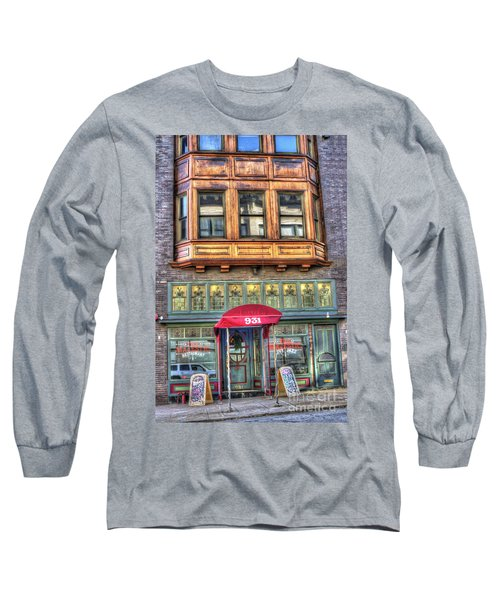 The Majestic Restaurant Long Sleeve T-Shirt by Liane Wright