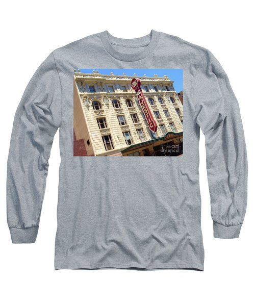Long Sleeve T-Shirt featuring the photograph The Majestic Theater Dallas #1 by Robert ONeil