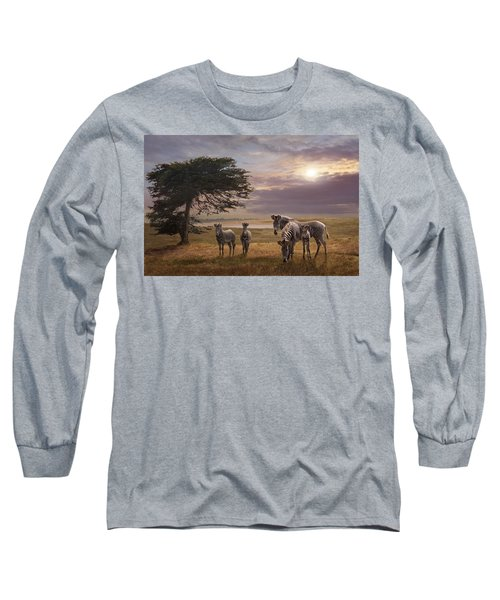The Mane Event Long Sleeve T-Shirt by Melinda Hughes-Berland