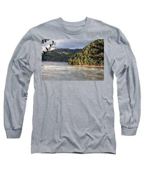 The Mists Of Watauga Long Sleeve T-Shirt by Tom Culver
