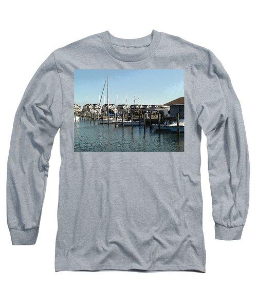 At Kent Narrows Long Sleeve T-Shirt by Charles Kraus
