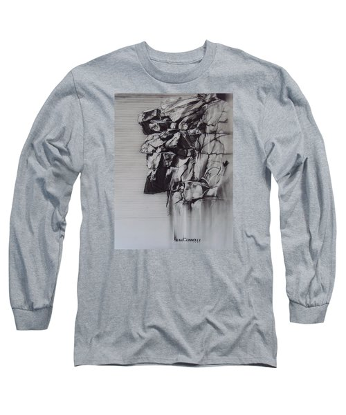 The Old Man Of The Mountain Long Sleeve T-Shirt by Sean Connolly