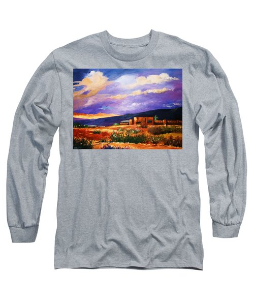 The Orange Glow Of Sunset Long Sleeve T-Shirt