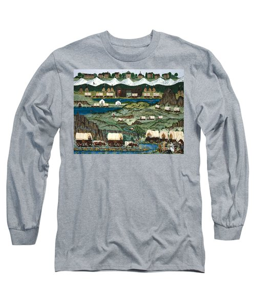 The Oregon Trail Long Sleeve T-Shirt