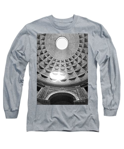 The Pantheon - Rome - Italy Long Sleeve T-Shirt by Luciano Mortula