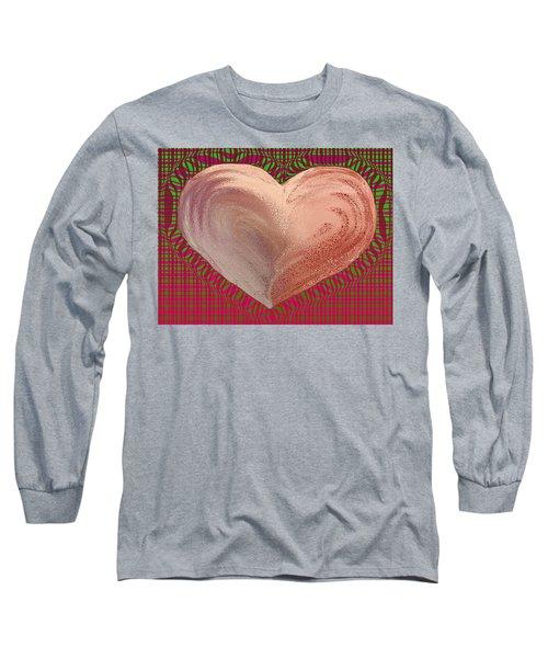 The Passionate Heart Long Sleeve T-Shirt by David Pantuso