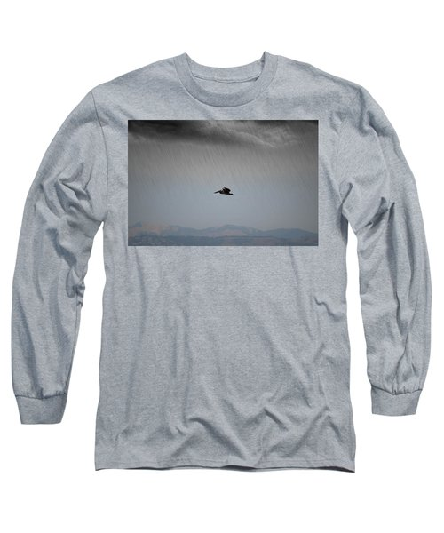 The Persevering Pelican Long Sleeve T-Shirt