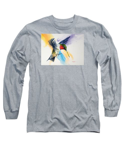 Da170 The Pollinator Daniel Adams Long Sleeve T-Shirt