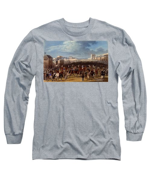 The Race Over, Print Made By Charles Long Sleeve T-Shirt