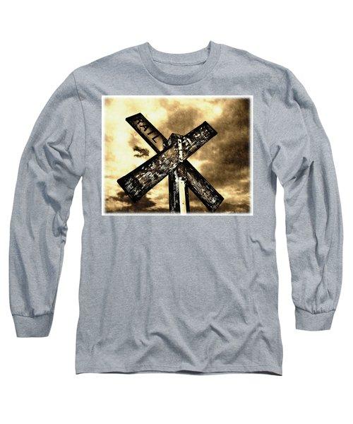 The Railroad Crossing Long Sleeve T-Shirt