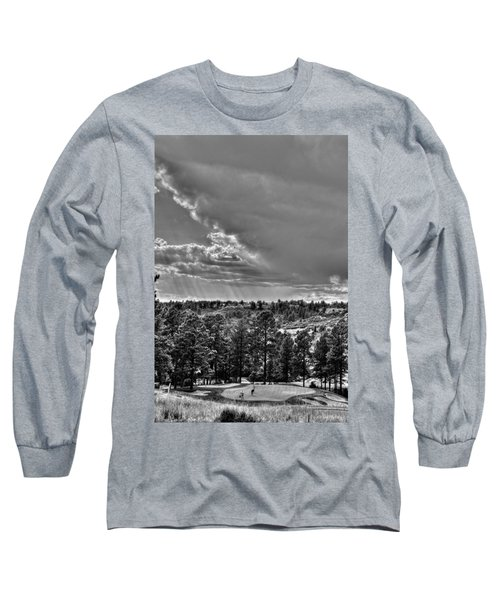 Long Sleeve T-Shirt featuring the photograph The Ridge Golf Course by Ron White