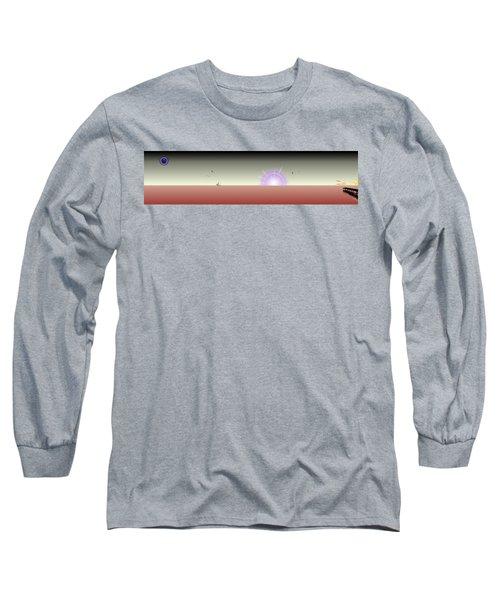 The Rising Long Sleeve T-Shirt by Tim Allen