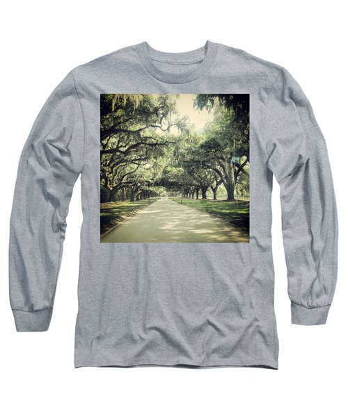 The Road From Boone Hall Long Sleeve T-Shirt
