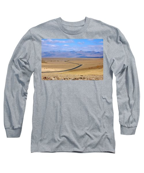 Long Sleeve T-Shirt featuring the photograph The Road by Stuart Litoff
