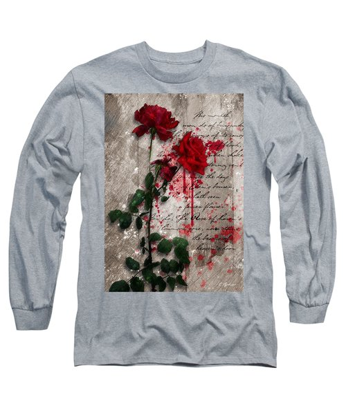The Rose Of Sharon Long Sleeve T-Shirt by Gary Bodnar