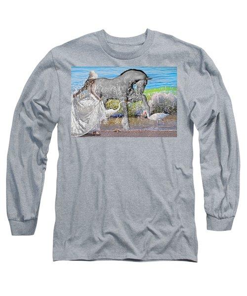 The Sea Horse Long Sleeve T-Shirt