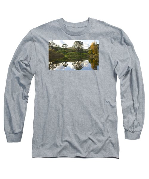 The Shire Middle Earth Long Sleeve T-Shirt by Venetia Featherstone-Witty