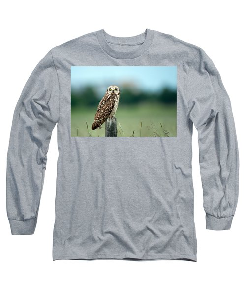 The Short-eared Owl  Long Sleeve T-Shirt