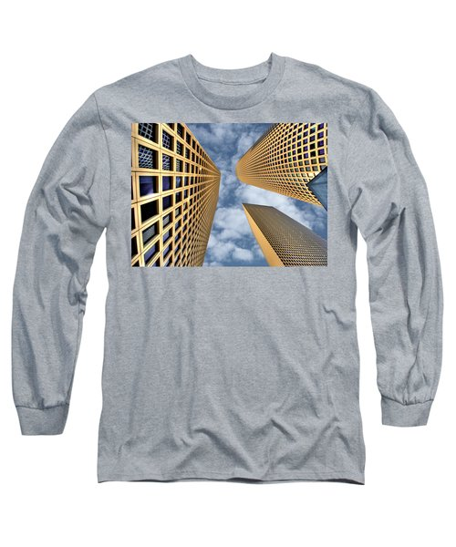 The Sky Is The Limit Long Sleeve T-Shirt by Ron Shoshani