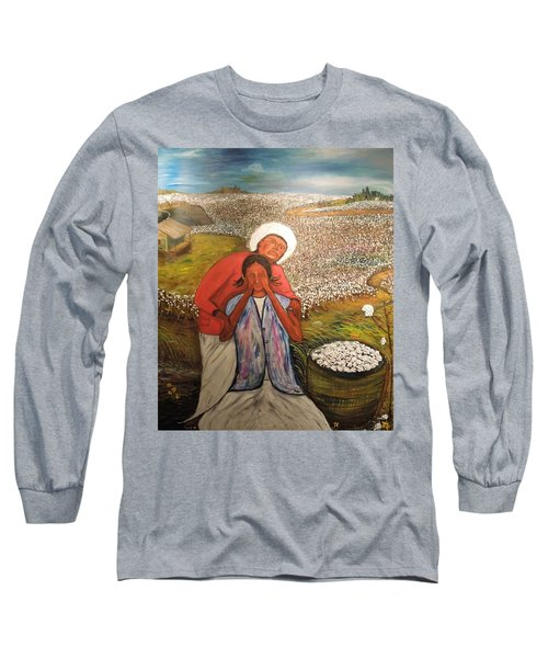 The Strength Of Grandma Long Sleeve T-Shirt