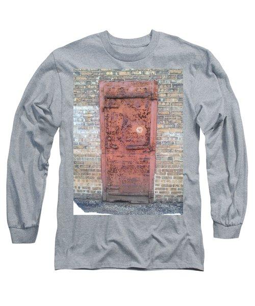 The Three Heart Door. Long Sleeve T-Shirt