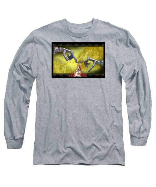 The Touch Long Sleeve T-Shirt by Scott Ross