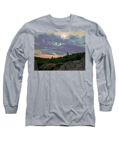 Long Sleeve T-Shirt featuring the photograph The Tower by Eti Reid