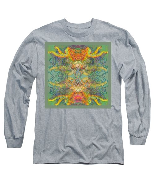 The Tree Of The Knowledge Of Good And Evil Long Sleeve T-Shirt