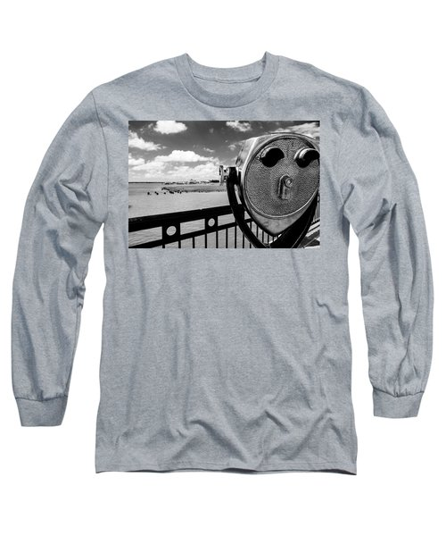 Long Sleeve T-Shirt featuring the photograph The Viewer by Sennie Pierson