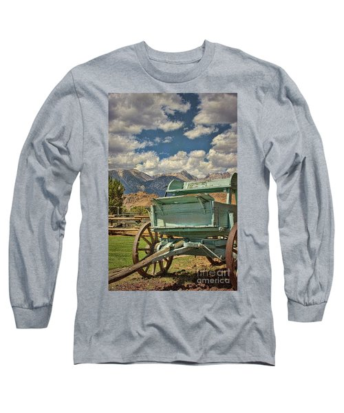 The Wagon Long Sleeve T-Shirt by Peggy Hughes