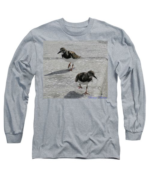 The Walk Long Sleeve T-Shirt by Donna Brown