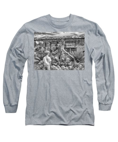 Long Sleeve T-Shirt featuring the photograph The Watering Hole by Howard Salmon