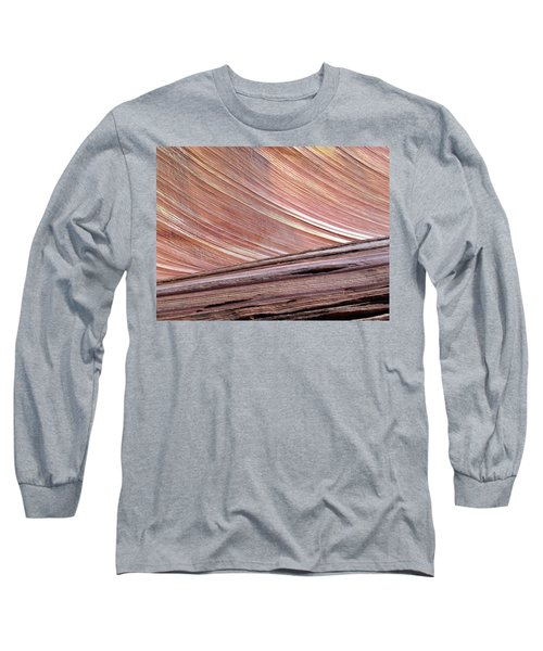 Long Sleeve T-Shirt featuring the photograph 'the Wave' North Coyote Buttes 02 by Jeff Brunton