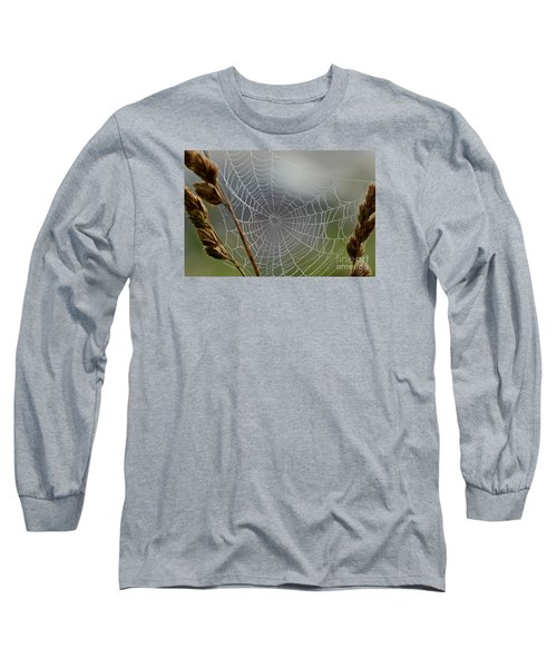 The Web Long Sleeve T-Shirt by Kerri Farley