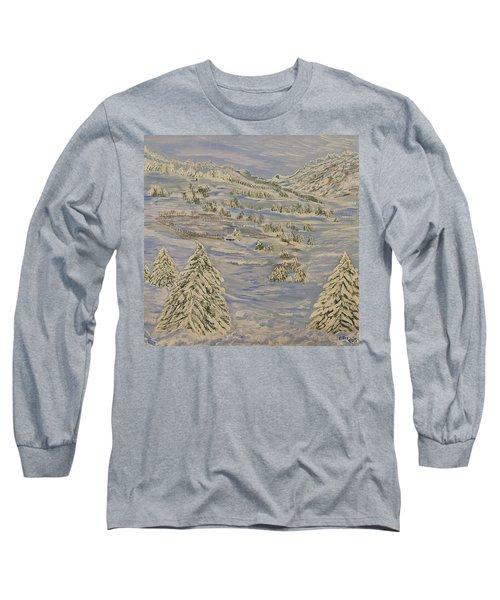 The Winter Heart Long Sleeve T-Shirt by Felicia Tica