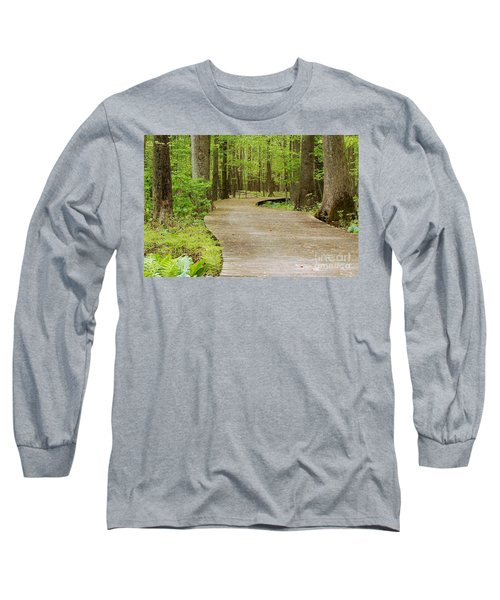 The Wooden Path Long Sleeve T-Shirt by Patrick Shupert